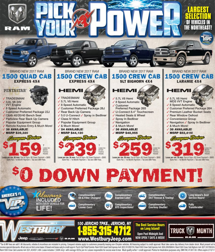 East Hills Chrysler Jeep Dodge Ram Srt: Long Island Jeep Chrysler Dodge Ram Deals Westbury Jeep