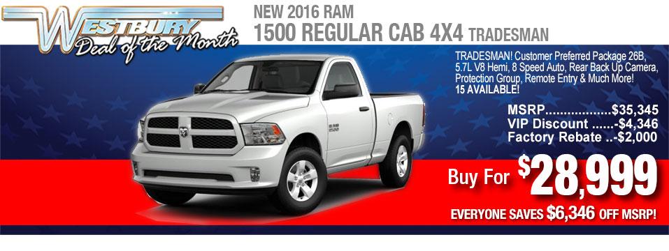 Best Ram Truck Deals Rebates Incentives Discounts