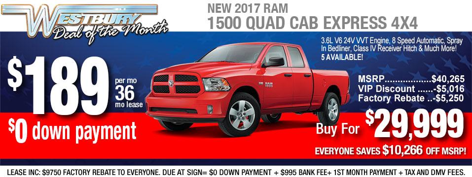 ram 1500 quad cab