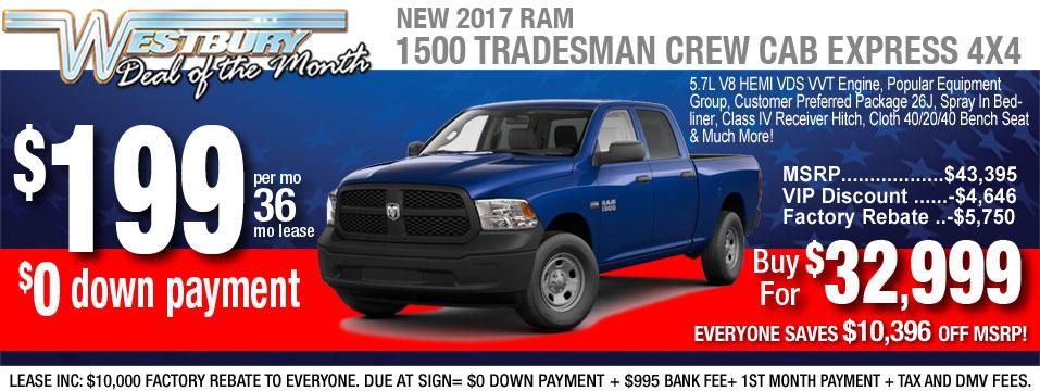 2017 ram 1500 crew cab
