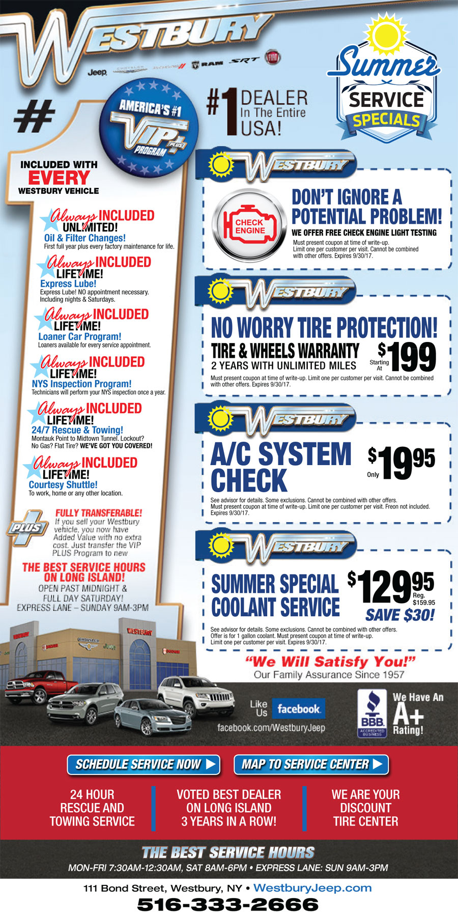 automotive service coupons long island nassau county oil change