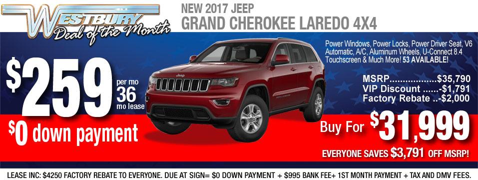 2017 jeep laredo
