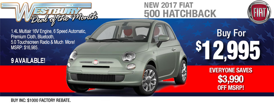 FIAT Lease Specials Long Island FIAT OF WESTBURY - Fiat 500 lease offers
