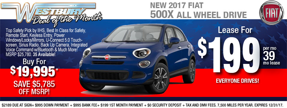 FIAT Lease Specials Long Island FIAT OF WESTBURY - Lease fiat 500