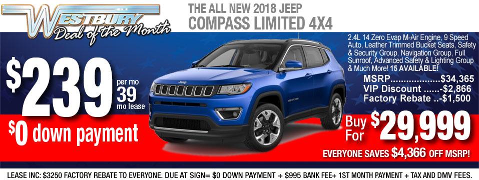 2018 Jeep Compass Ltd