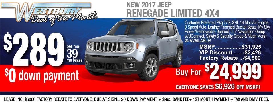 2018 Jeep Renegade Ltd