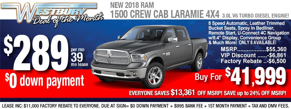 Ram 1500 Crew Laramie 5.7L