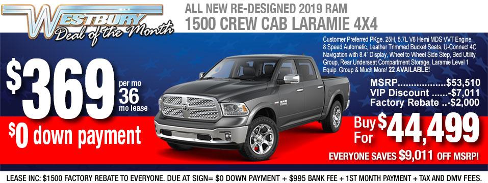 2019-Ram-1500-Crew-Laramie