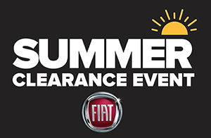 Fiat Summer Clearance Event