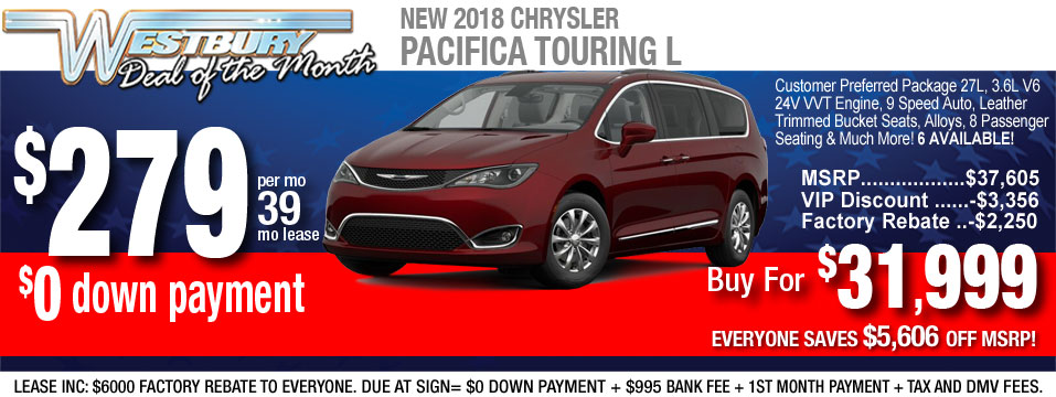 Chrysler Pacifica-Touring-L