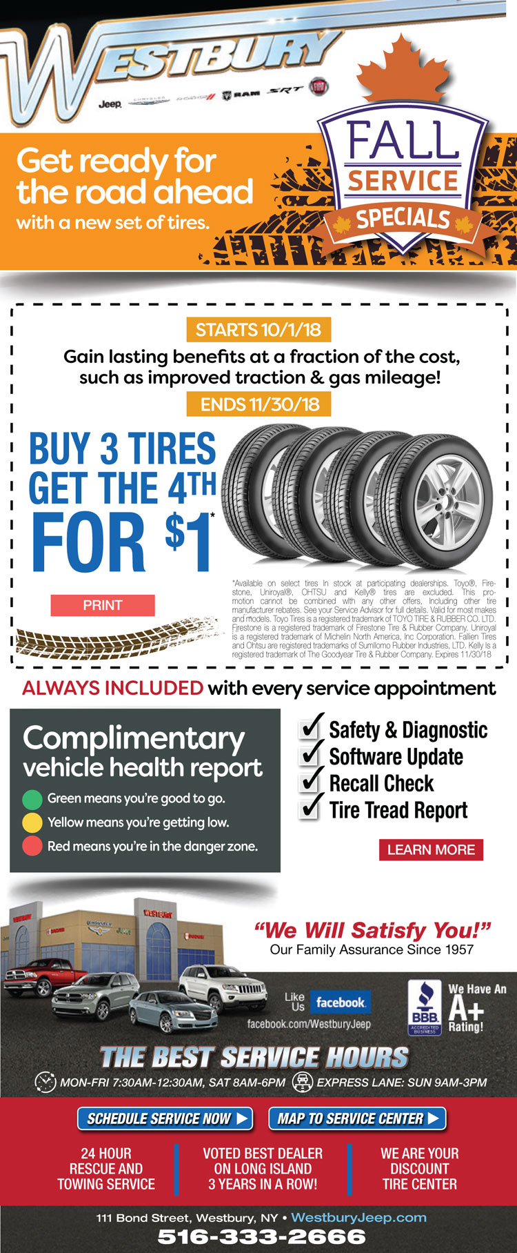 Fall Tire Special