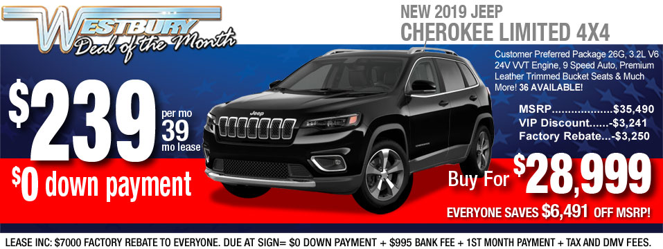 2019 Jeep Cherokee LTD