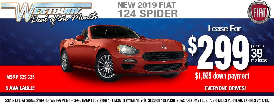 FIAT Lease Specials Long Island | FIAT OF WESTBURY