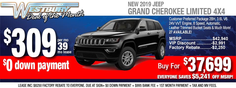 Jeep Grand Cherokee Lease >> Jeep Deals Long Island Ny Jeep Cherokee And Grand